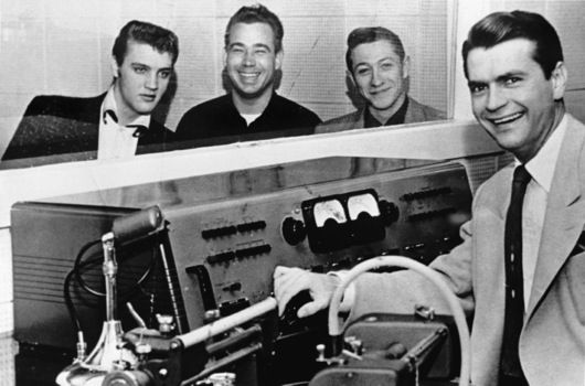 Sam Phillips was Big Daddy at Sun Records in the fifties