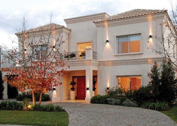 Fachadas de casas barrios privados buscar con google decoraciones pinterest house - Casas clasicas modernas ...