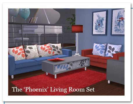 Holy Simoly   Best Quality Free Sims 2 Downloads. Living RoomsPhoenixFree  ... Part 29