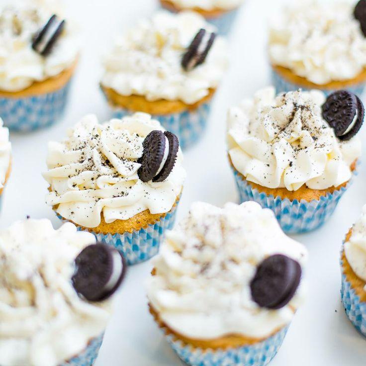 Cupcakes de Oreo www.corazondecaramelo.es