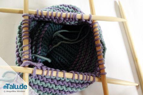Möchten Sie Ihren Kleinsten eine Kindermütze stricken? Unsere kostenlose Anleitung plus Größentabelle hilft Ihnen dabei. Stricken kann so einfach sein.
