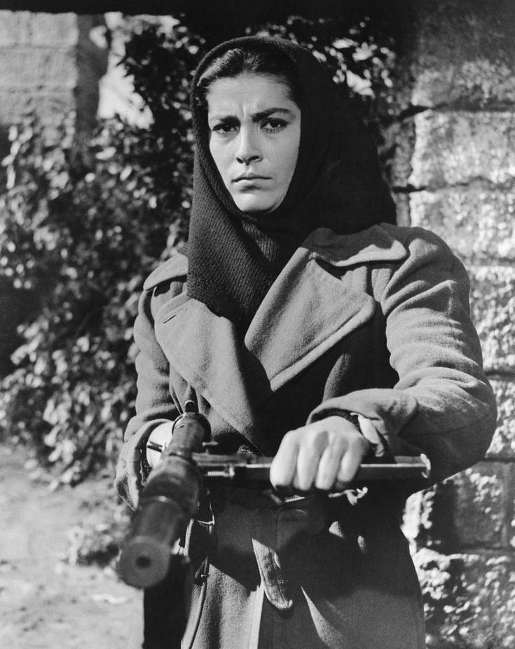 THE GUNS OF NAVARONE, Irene Papas, 1961