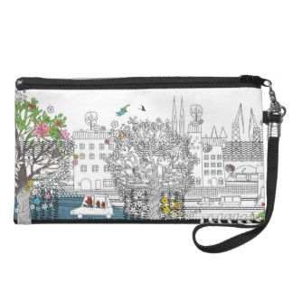 Bear & Fox in town Wristlets