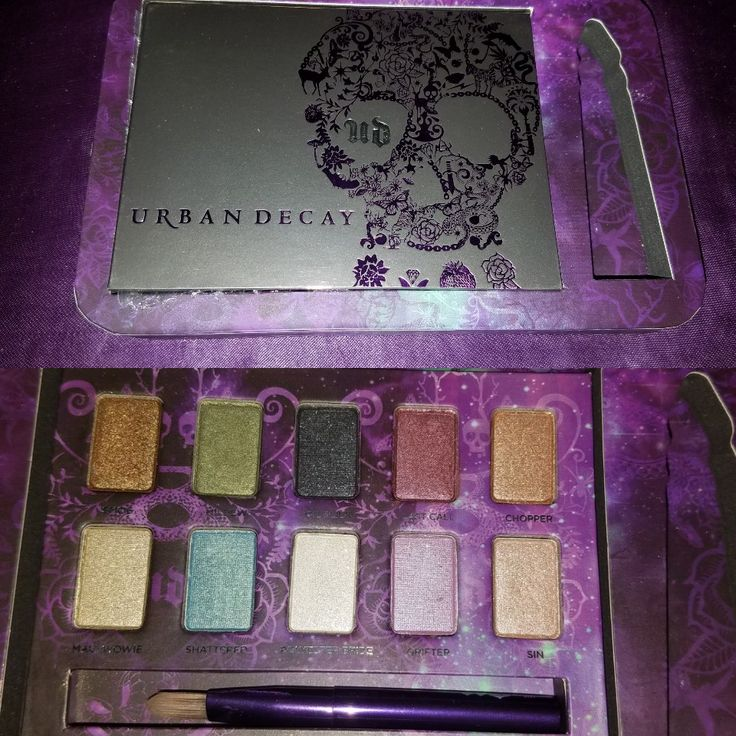 Urban Decay Ammo Eyeshadow Palette - Swatched