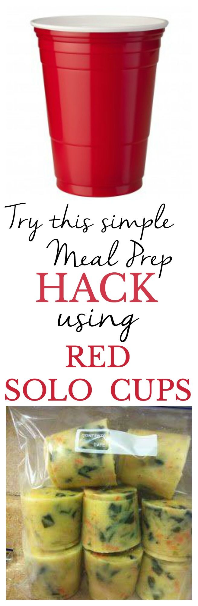 BRILLIANT! Why did I never think of this meal prep hack before? Great for single serving portions of soup, as I always cook in bulk and then get sick of eating the same recipes after a few days! This way I can thaw one serving at a time!