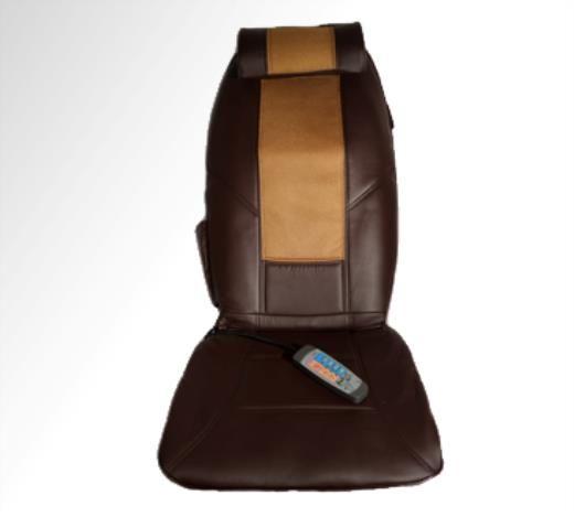 Respaldo Masaje Shiatsu. Placer y relax estés donde estés. Adaptable a cualquier silla, sofá, sillón o vehículo. Mando a distancia multifunción i adaptador para encendedor.