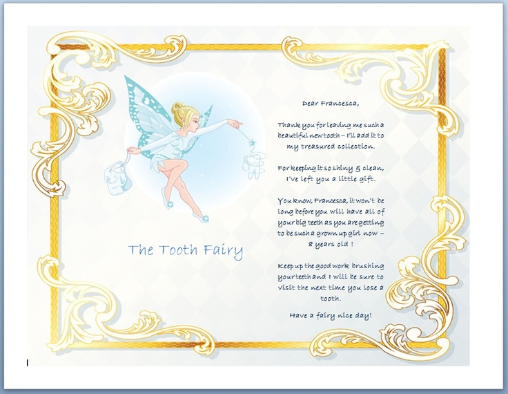 letter from the tooth fairy template - 72 best images about tooth fairy santa easter bunny on
