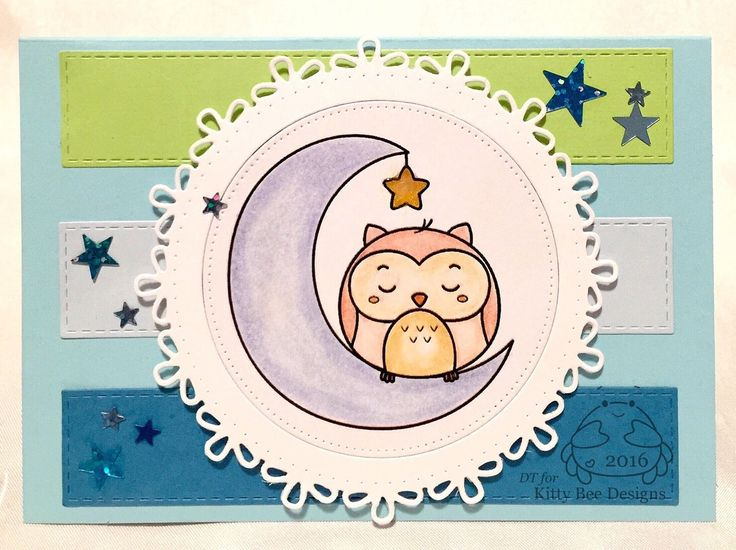 Goodnight Owl - Kitty Bee Designs by Naz