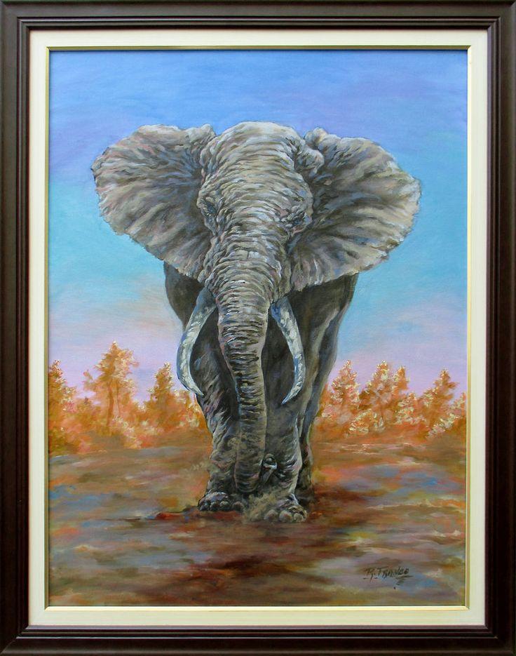 Elefante by ricardoafranco.deviantart.com on @DeviantArt