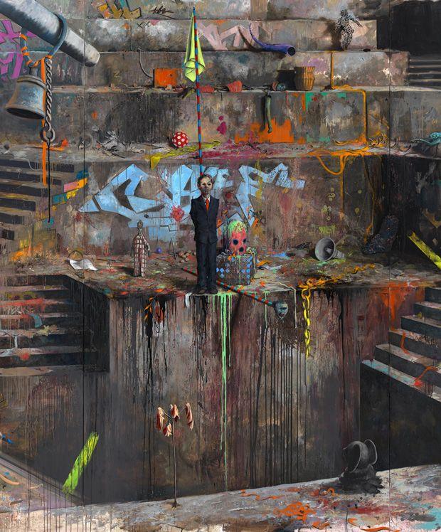 Künstler Jonas Burgert: Wenn die Fantasie Dich holen kommt | Kultur | ZEIT ONLINE