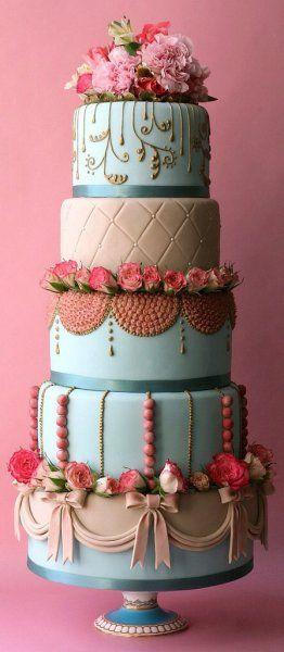 4つのカテゴリー別♡結婚式に欠かせない『ウェディングケーキ』のおしゃれアイディア集!   ギャザリー