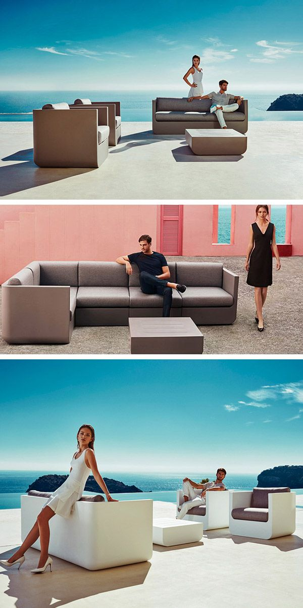 L'ensemble de Mobilier Outdoor ULM par Vondom a été dessiné par le Designer Ramon Esteve. La collection, à la fois contemporaine et ergonomique, est un concentré de prouesses technologiques, pensée pour les Professionnels. #vondom #outdoor #lounge #canapé #sofa #fauteuil #restaurant #bar www.barazzi.fr
