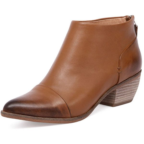 Mollini Hawkins Tan (220 AUD) ❤ liked on Polyvore featuring shoes, boots, ankle booties, faux leather booties, leather bootie, leather booties, tan leather boots and faux-fur boots