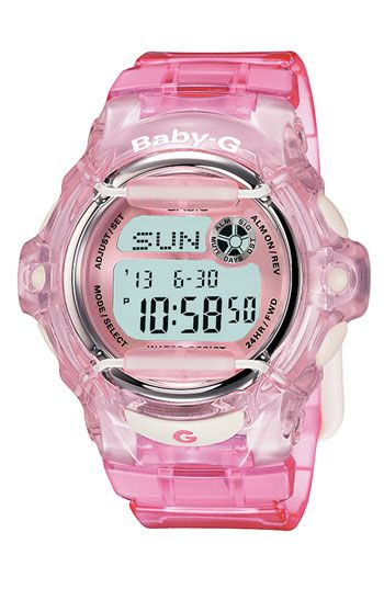 Love these watches! Casio 'Baby-G' Jelly Watch available at #Nordstrom