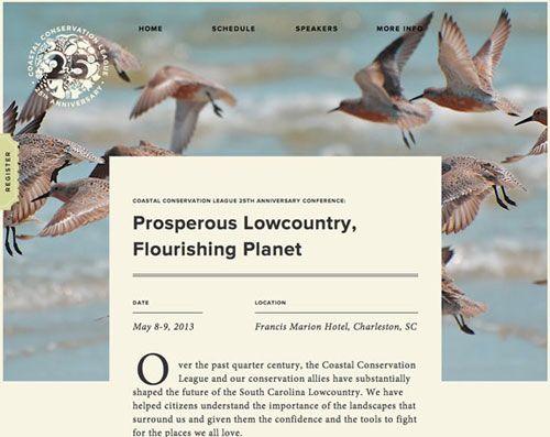 Beautiful clean website designs