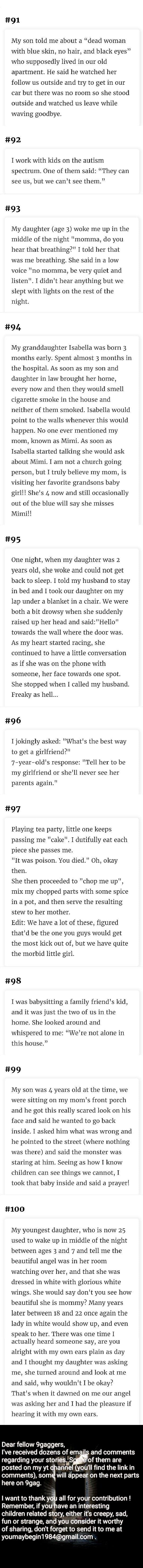 Kids can say creepy things ( Part 10)