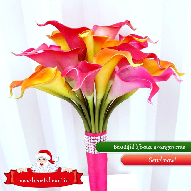 Send Beautiful life-size arrangements. Visit http://www.heart2heart.in/lifesize-flowers-arrangement  #Lifesize #flowers #heart2heart #beautiful