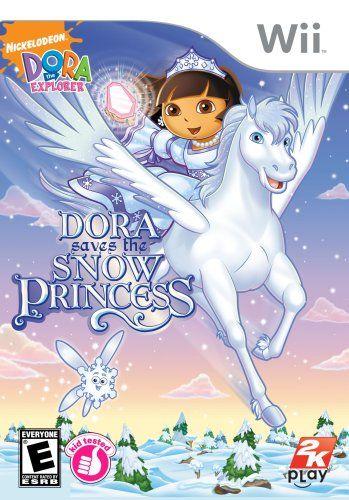 Amazon.com: Dora the Explorer: Dora Saves the Snow Princess - Nintendo Wii: Video Games