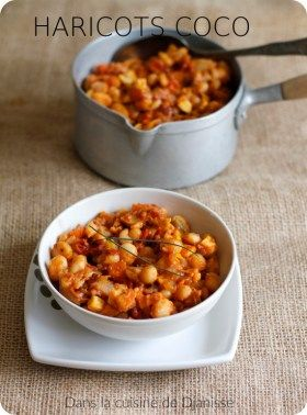 Haricots coco curry tomate (vegan)