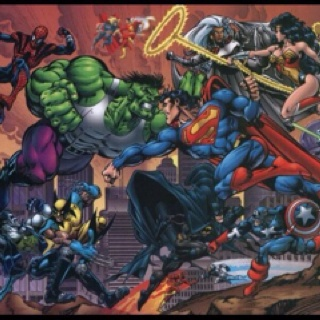"""Everytime I see a Marvel vs. DC pic I always think """"MAN does Superman have a death wish or what???"""": Comics Book Character, Superman, Marvel Dc, Dc Comics, Marvel Comics, Wallpapers, Superheroes, Super Heroes, Posters"""