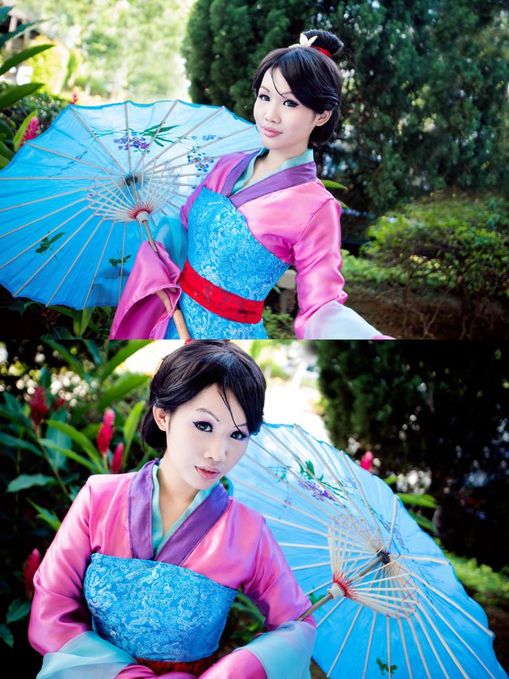 Mulan: Honor to us all by Astellecia.deviantart.com on @deviantART - I tend to be VERY picky with my Mulan cosplays, but this one is really nice (even if it looks less natural than I would like).