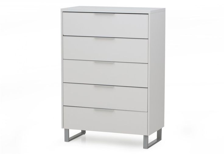 Ice 5 Drawer Tall Chest | Super Amart