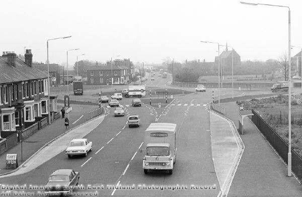 Wilmorton roundabout.