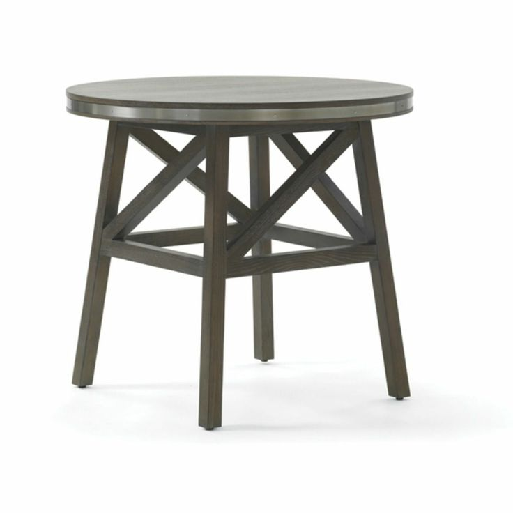 Carmel Farmhouse Round Side Table (30w 30d 28h)