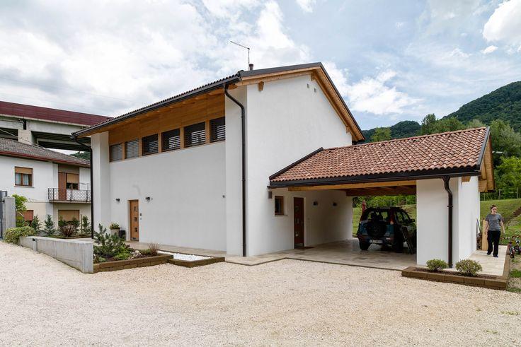 27 best casa rubner haus di v veneto parete residenz images on pinterest color palettes - Casa in legno economica ...
