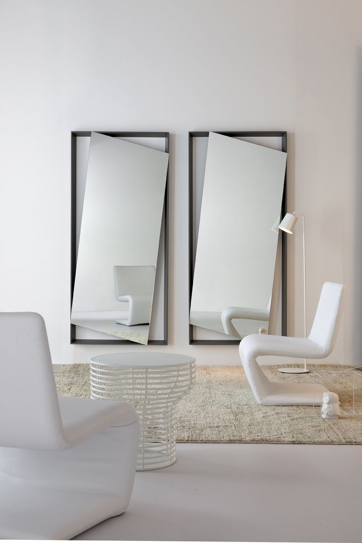 Znalezione obrazy dla zapytania straight mirrors design