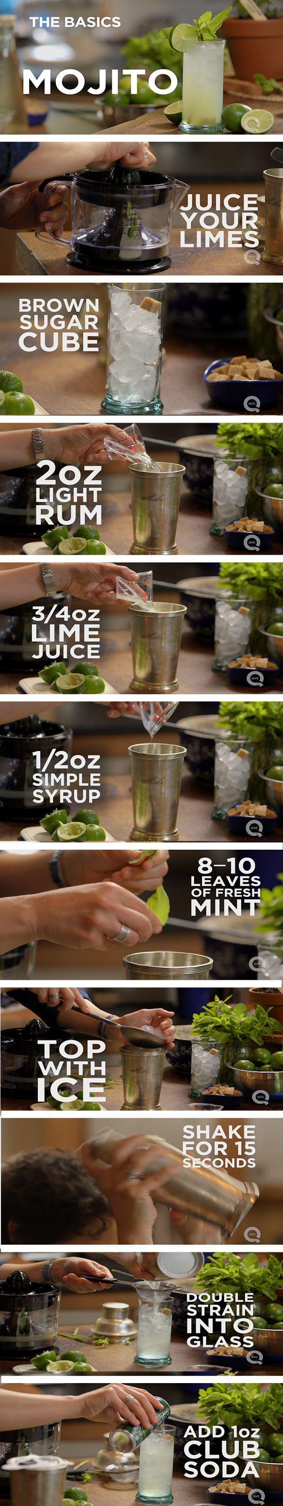 Fresh + simple Mojito recipe! {wine glass writer}