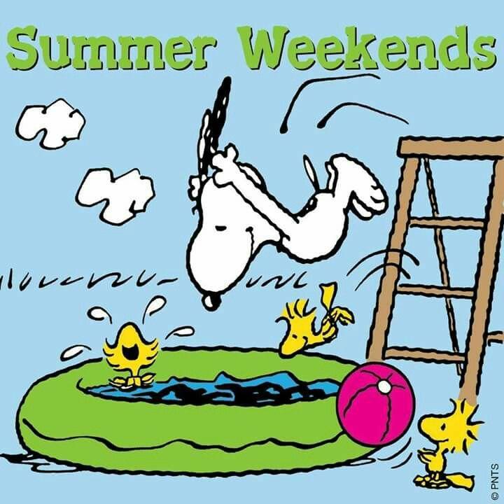 Summer weekends Snoopy