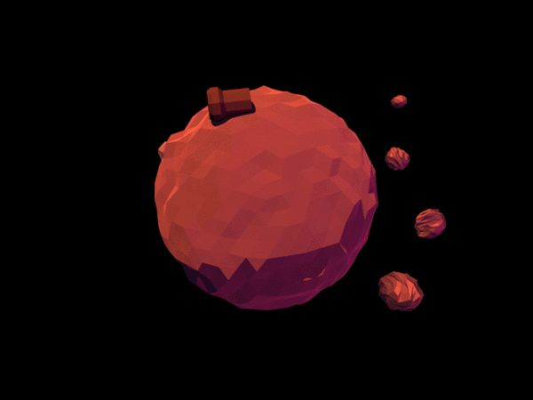Stunning Turning Planets GIFs by Tim Smits  Dutch graphic designer Tim Smits is the author of a series of animations that represents imaginary planets. As he was playing with volumes, lights and textures, he managed to create a dozen of GIFs based on animated spheres, each with its own identity. Get onboard for an unexpected spatial trip.
