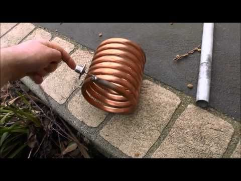 Ham Radio - 80 160 meter magnetic loop transmitting antenna - YouTube