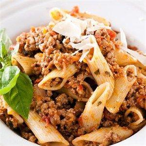 Maklike maalvleis en pasta