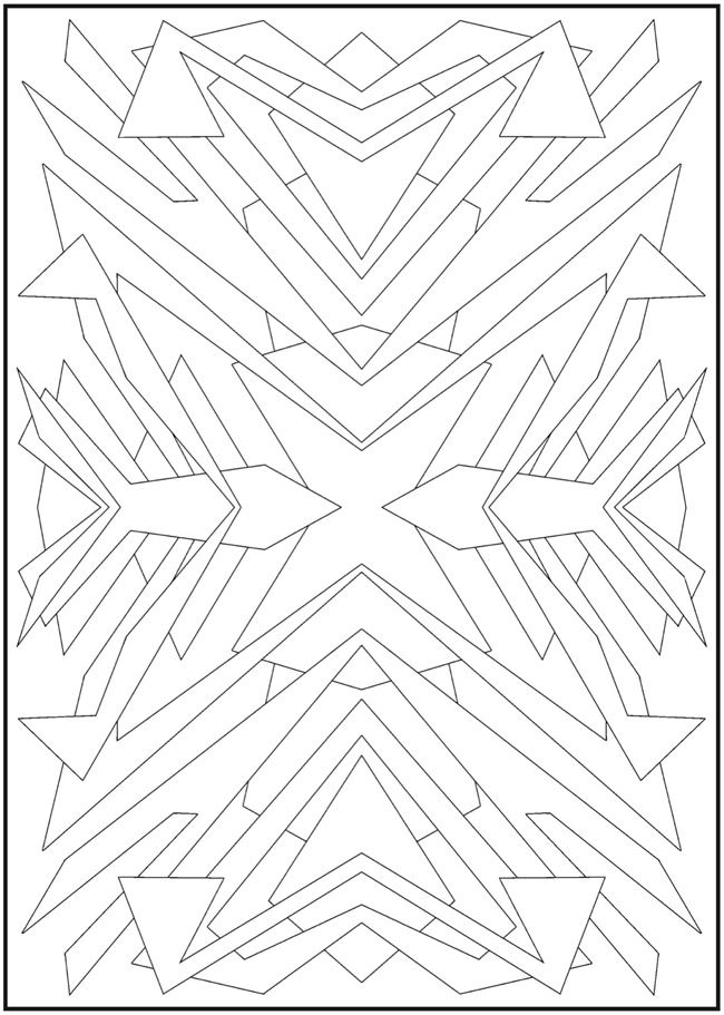 1710 best doodles - coloring pages images on pinterest | coloring ... - Coloring Pages Abstract Designs