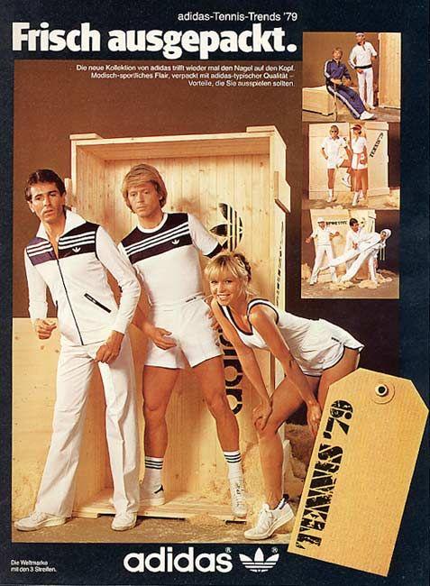 1970's adidas female print ads - Google Search