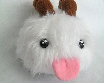 Poro plush from League of Legends