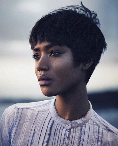 opaqueglitter: Nadia G @ Elite by Rory Payne for the Telegraph, Blouse:Isabel Marant Etoile.