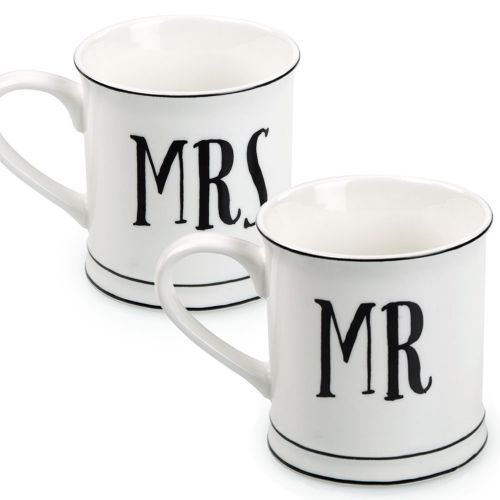 Give your Mr or Mrs the perfect romantic gift with one of our stylish ceramic mugs.