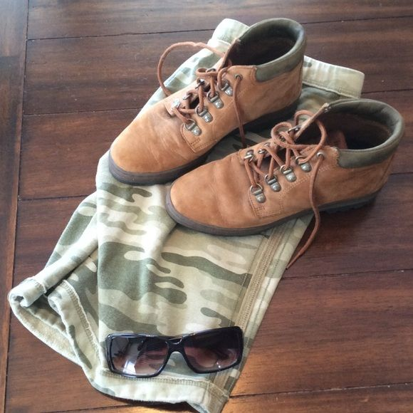 Timberland Hiking Boots Vintage Timberland Hiking Boots. Worn only a few times. Soles are like new. Timberland Shoes