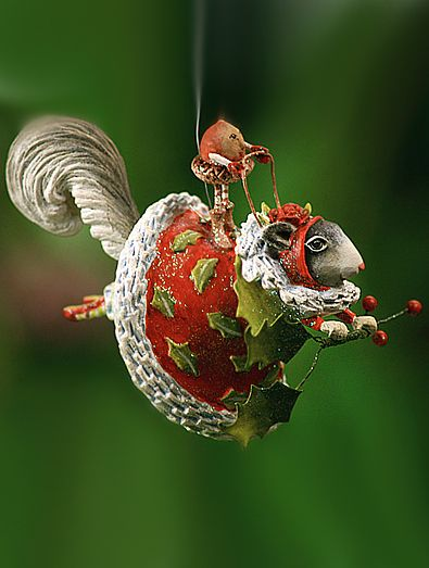 Krinkles Joyful Animals Ornaments by Patience Brewster at Fiddlesticks