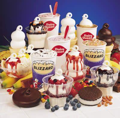 The best vanilla ice cream ever! love me some dairy Queen strawberry cheesequake blizzard!!!!