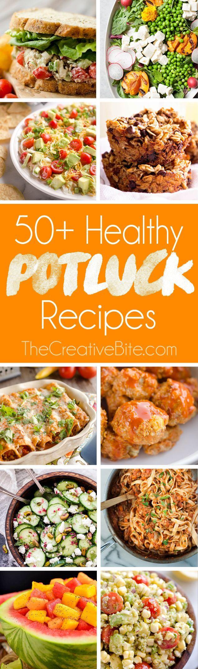 50+ Light U0026 Healthy Potluck Recipes