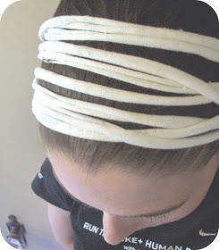 zakka life: How to Make a T-shirt Headband <3 looooove