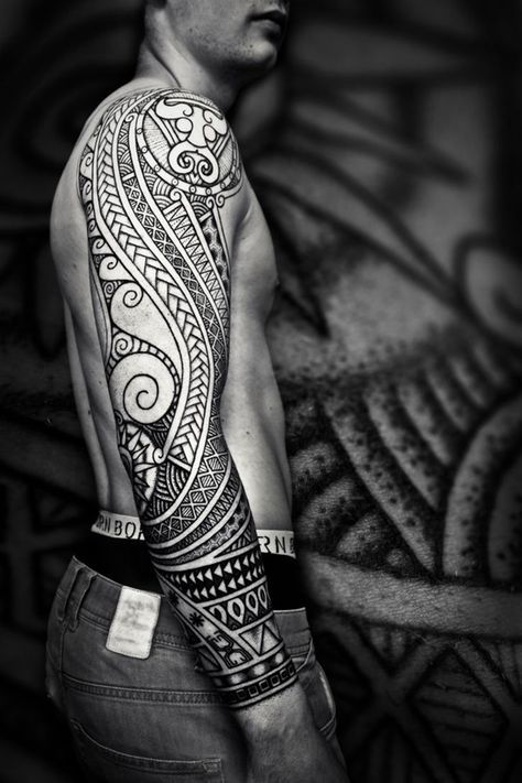 40 Polynesian Tattoo Designs for Men and Women | Smashing Yolo…