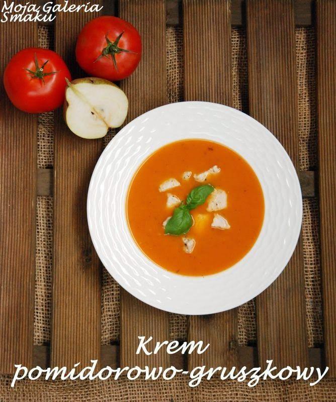 Krem pomidorowo-gruszkowy