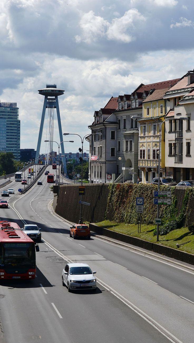Ufo Bridge in Bratislava