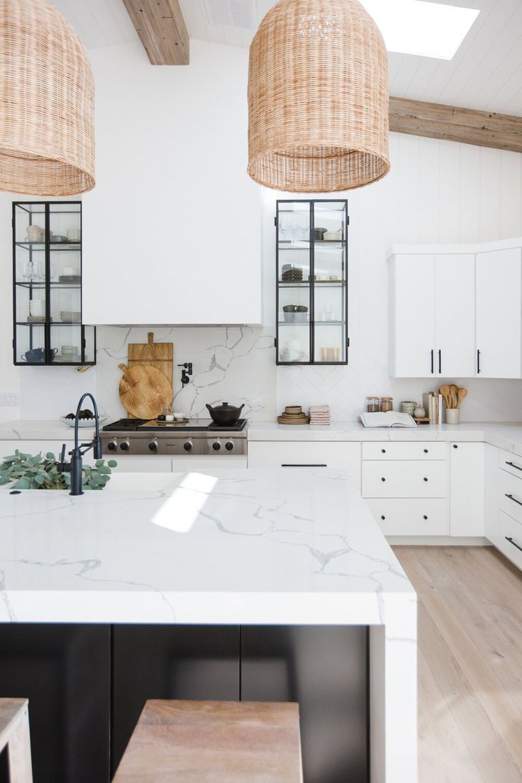 Kitchen Design In 2020 Home Decor Kitchen Kitchen Interior White Modern Kitchen
