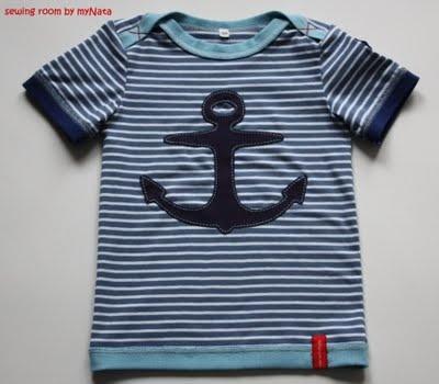 "shirt ""Ahoi..."" pattern by Ottobre"